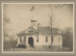 Overisel Township Hall - 1910